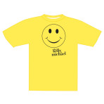 Travel Trivia Smiley Face T-shirt
